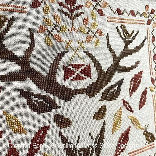 Highland Fall cross stitch pattern by Galliana, zoom 1