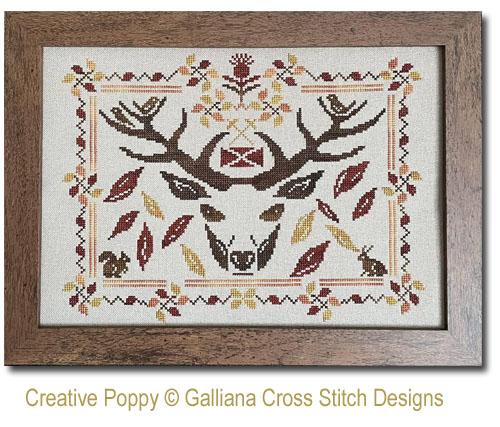 Highland Fall cross stitch pattern by Galliana