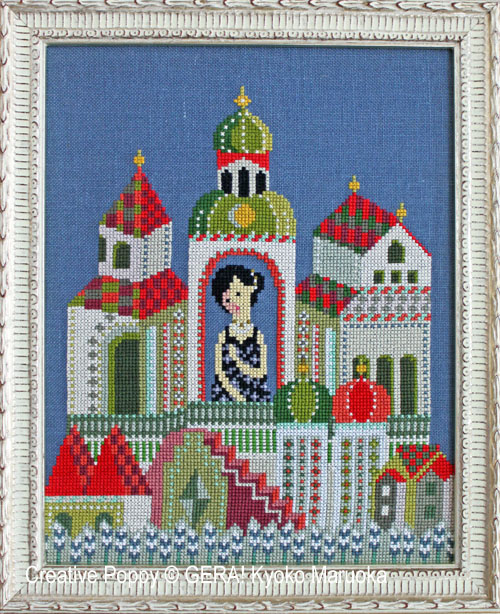 Gera! by Kyoko Maruoka - Anna Karenina (Leo Tolstoy) (cross stitch chart)