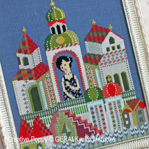 Russia patterns to cross stitch