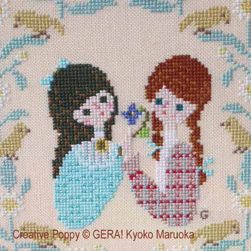 Friendship patterns to cross stitch