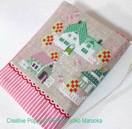 Green Gables cross stitch pattern by GERA! Kyoko Maruoka