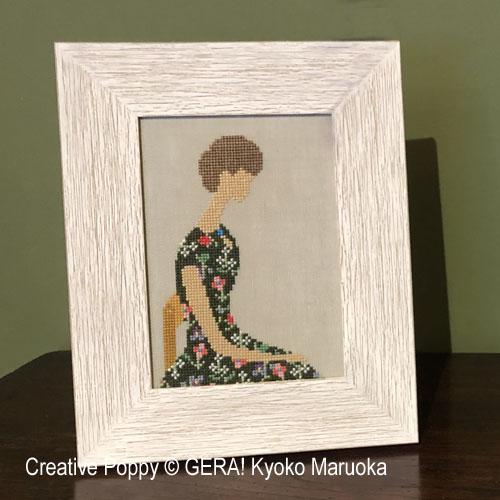 Woman - 1 cross stitch pattern by GERA! Kyoko Maruoka