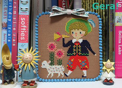 Cross stitch frame tutorial