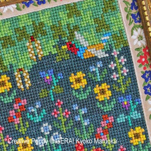 Gera! by Kyoko Maruoka - Pride & Prejudice (Jane Austen) zoom 1 (cross stitch chart)