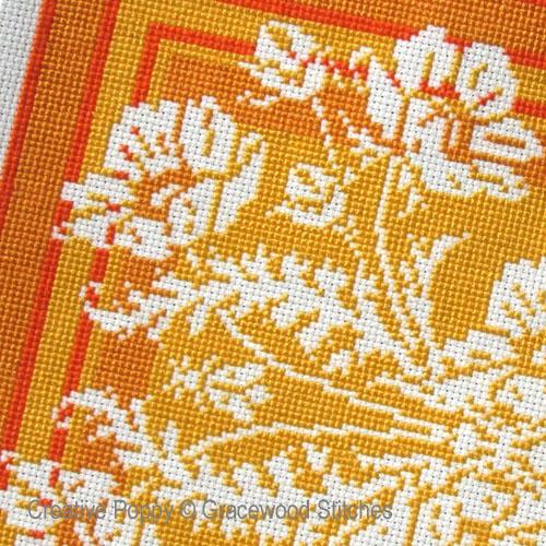 Year round calendar of designs cross stitch patterns designed by <b>Gracewood Stitches</b>