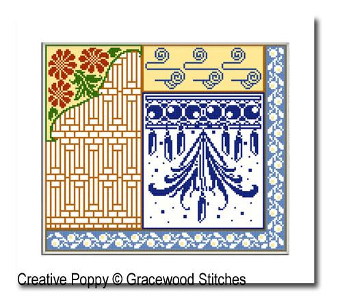Serendipity #2 cross stitch pattern by Gracewood Stitches