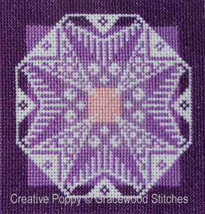 Twighlight Ornament cross stitch pattern by Gracewood Stitches, zoom 1
