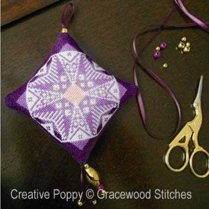 Twighlight Ornament cross stitch pattern by Gracewood Stitches