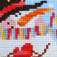 Cross stitch patterns for Christmas and the Winter Season, designed by Barbara Ana