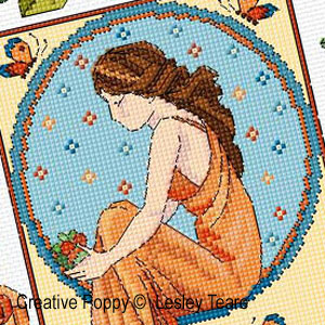 Beauties patterns to cross stitch
