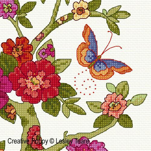 Floral Tree (cross Stitch Pattern
