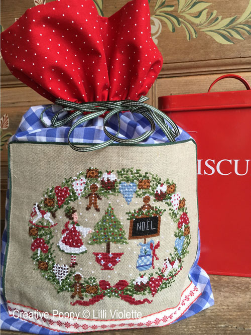 Christmas Biscuits cross stitch pattern by Lilli Violette