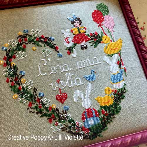 Once Upon a Time cross stitch pattern by Lilli Violette, zoom 1