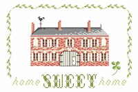 Countryside Home sweet home - cross stitch pattern - by Monique Bonnin