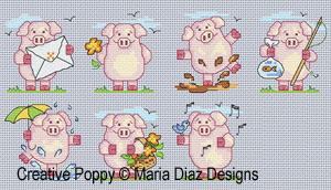 7 Little Pigs