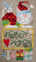 Meowy X-mas - cross stitch pattern - by Barbara Ana Designs