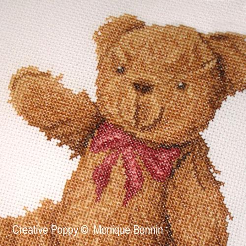 My best friend - cross stitch pattern - by Monique Bonnin (zoom 1)