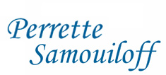 Perrette Samouiloff Cross stitch pattern logo