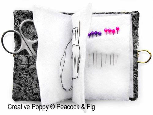 Scissor and Needle Cases to cross stitch