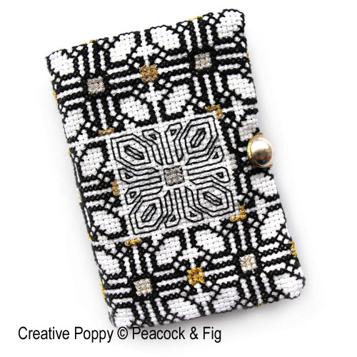 Needle Case cross stitch pattern by Peacock & Fig