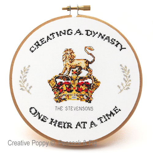Creating a Dynasty cross stitch pattern by Peacock & Fig