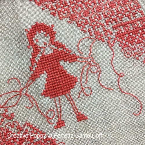 All Tangled Up cross stitch pattern by Perrette Samouiloff