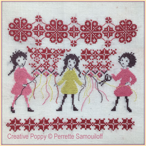 The Stitchers - In good company cross stitch pattern by Perrette Samouiloff