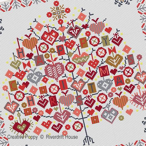 Christmas cross stitch patterns designed by <b>Riverdrift House</b>