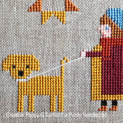 Autumn Sampler cross stitch pattern by Samanthapurdyneedlecraft