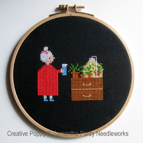 Samanthapurdyneedlecraft - Watering before bed (cross stitch chart)