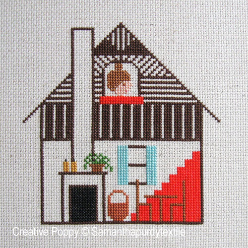 Samanthapurdytextile - Attic Window (cross stitch chart)