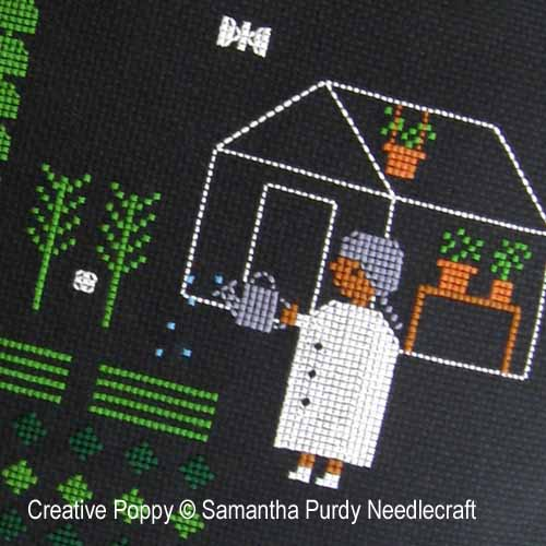 Samanthapurdyneedlecraft - Night Garden (cross stitch chart)