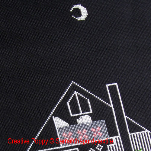 Night-time & Moonlight patterns to cross stitch