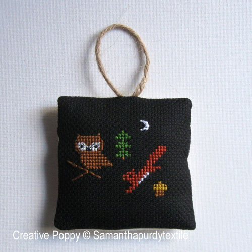 Samanthapurdytextile - Ornaments (cross stitch chart)