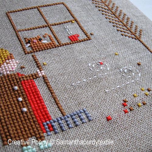 Autumn cross stitch patterns designed by <b>Samantha Purdy Needlecraft</b>