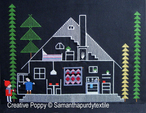 Samanthapurdytextile - Welcome (cross stitch chart)