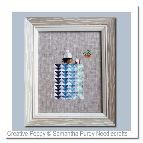 Winter Quilt cross stitch pattern by Samantha Purdy Needlecrafts