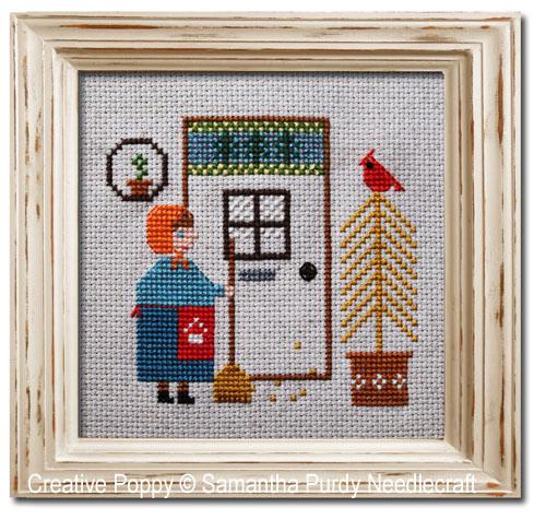 First leaves cross stitch pattern by Samantha Purdy Needlecraft