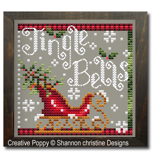 Shannon Christine Designs - Jingle bells (cross stitch chart)