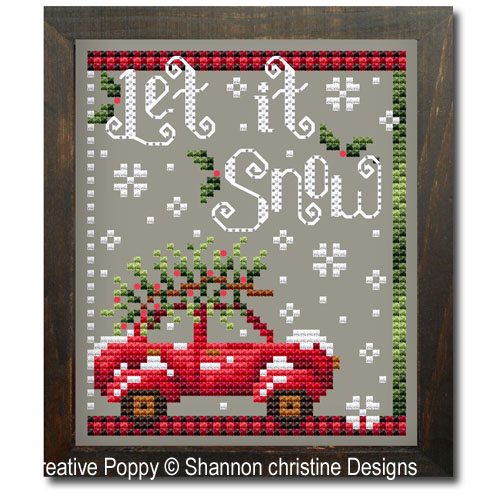 Shannon Christine Designs - Let it Snow (cross stitch chart)