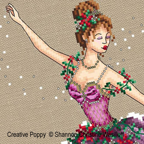 The Sugar-plum cross stitch pattern by Shannon Christine Designs, zoom 1