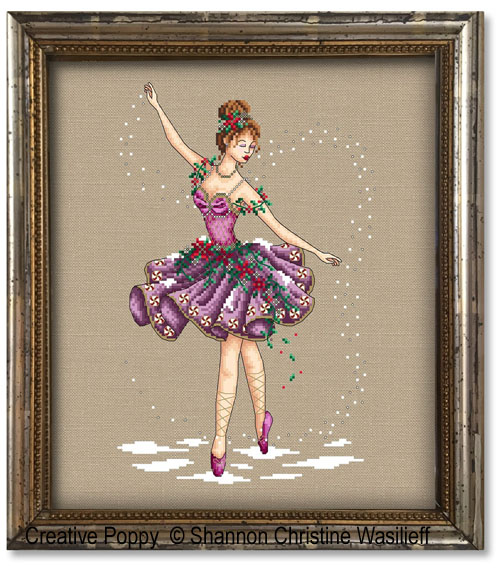 The Sugar-plum cross stitch pattern by Shannon Christine Designs