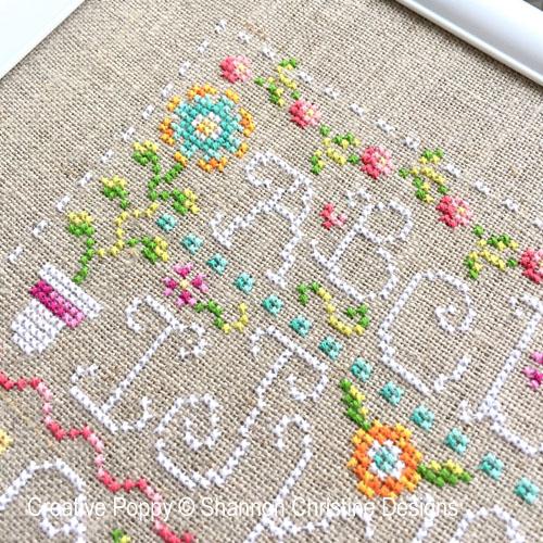 Spring patterns to cross stitch