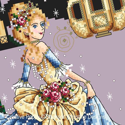 Shannon Christine Designs - Cinderella zoom 1 (cross stitch chart)