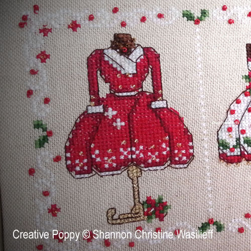Cross stitch patterns for celebrating Christmas and the holiday season