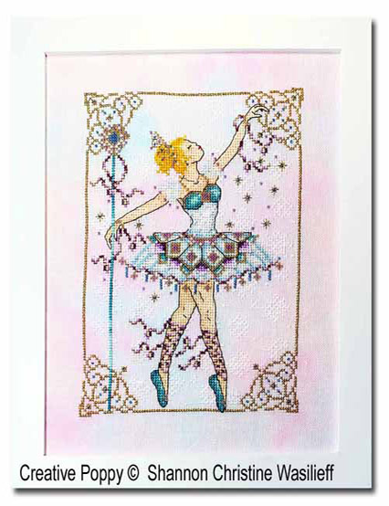 Snow Queen cross stitch pattern by Shannon Christine Designs