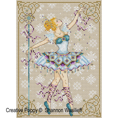 Snow Queen cross stitch pattern by Shannon Christine