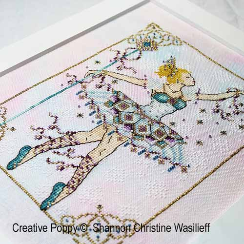Snow Queen cross stitch pattern by Shannon Christine, zoom1