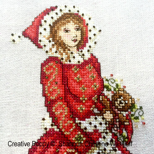 Christmas cross stitch patterns designed by <b>Shannon Christine Designs</b>